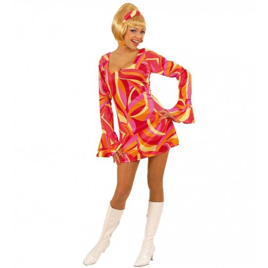 Seventies kostuum voor dames bij Speelgoed voordeel, altijd