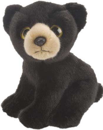 fb97179b88f5aa Zwarte beer knuffel 18 cm bij Speelgoed voordeel, altijd de voordeligste